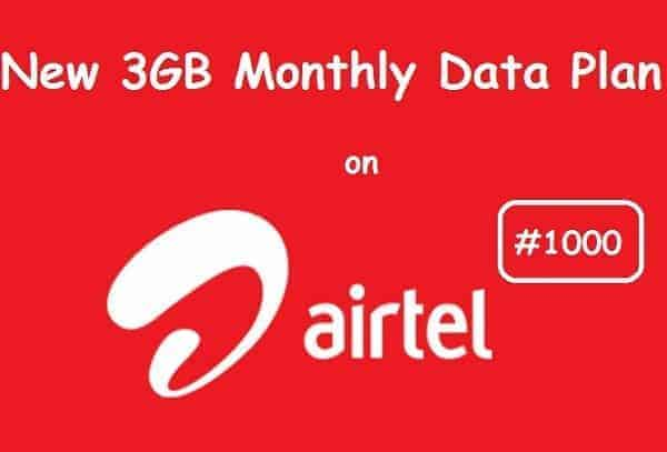 Complete List Of The Latest Airtel Data Plan, Price And
