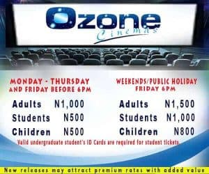 ozone cinema ticket prices