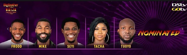 Image result for who will be evicted in bbnaija week 3 eviction