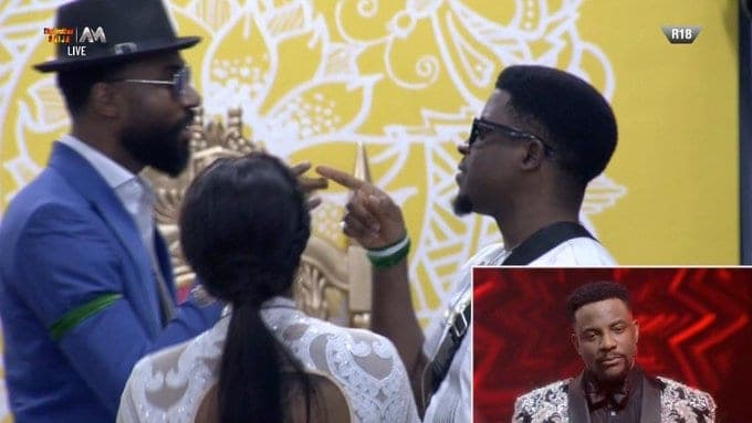 Seyi's eviction
